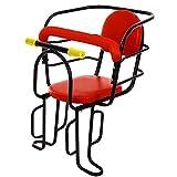 ZXXxxZ Fahrradsitz Hinten Baby Einstellbare Sicherheit Tragbare Leichte rutschfeste Handlauf Zaun Verdicken Fahrrad Babystuhl