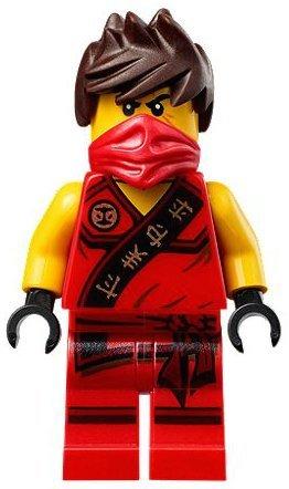 LEGO® Ninjago - Minifigur Roter Ninja Kai von (Ninjago Ninja Roter)