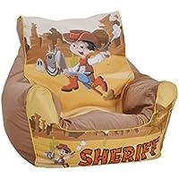 Knorrtoys 68205 - Kinder Sitzsack Sheriff preisvergleich bei kinderzimmerdekopreise.eu
