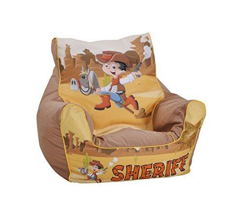 Knorrtoys 68205 - Kinder Sitzsack Sheriff