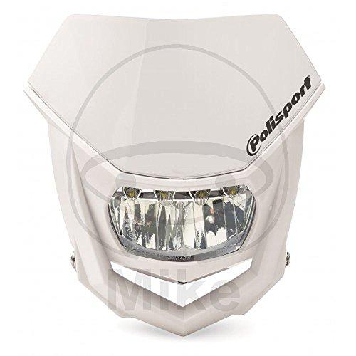 Motorrad Scheinwerfer Maske Halo weiss LED weiss 8667100001 (Masken Halo)