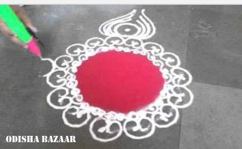 Odishabazaar Ready to Draw Rangoli Making Kit Rangoli Pen Set of 5