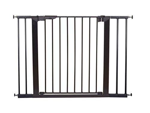 Baby Dan 60116-2694-02-85 Premier Tür/Treppenschutzgitter zum Einklemmen, 73.5-106.3 cm, schwarz