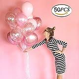 """JATO Balloon 12 """"Palloncino in Lattice per Feste di Compleanno Celebrazioni per Feste di Nozze Decorazioni con 1 Palloncino a Forma di Palla (Rosa)"""