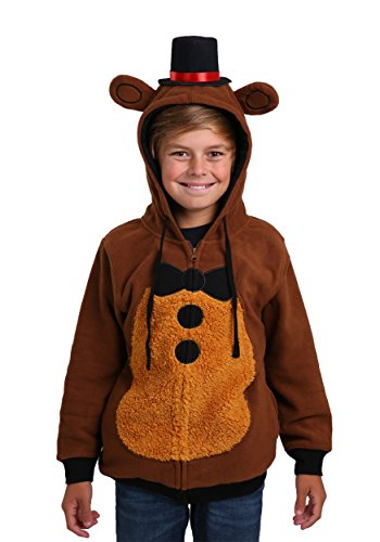 Bioworld Merchandising / Independent Sales Boys Five Nights at Freddys Kids Fancy dress costume Hoodie Large