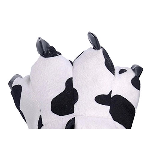 AIZHE  Animal Slippers, Chaussons femme homme vache