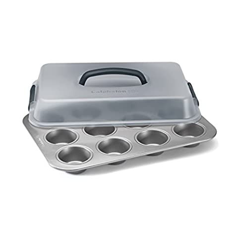 Simply Calphalon Nonstick Bakeware 9-in. x 13-in. Covered Cupcake