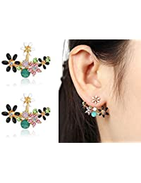 b7cbed083 Shining Diva Fashion Multicolour Crystal Stylish Stud Earrings for Women  and Girls (8844er)