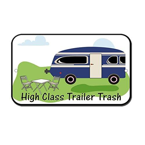 Teisyouhu Metallschild mit Zitat für Anhänger, Mülleimer, Wohnmobil, Wohnmobil, Aluminium, Wanddekoration für Auffahrt