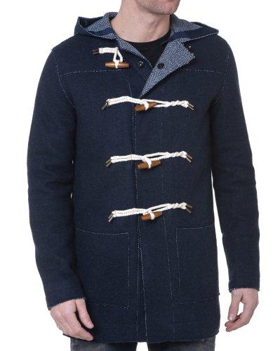 BLZ jeans - Dufflecoat Navy geknöpfte Mann Blau