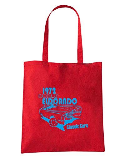 T-Shirtshock - Borsa Shopping TB0039 eldorado classic cars Rosso
