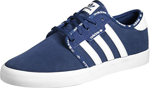 adidas Seeley, Chaussures Homme Bleu (Mystery Blue /ftwr White/ftwr White)