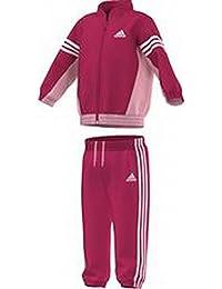 adidas Chándal para niña IJ Woven Suit, niña, Trainingsanzug IJ woven suit, Pink/Weiss, 62