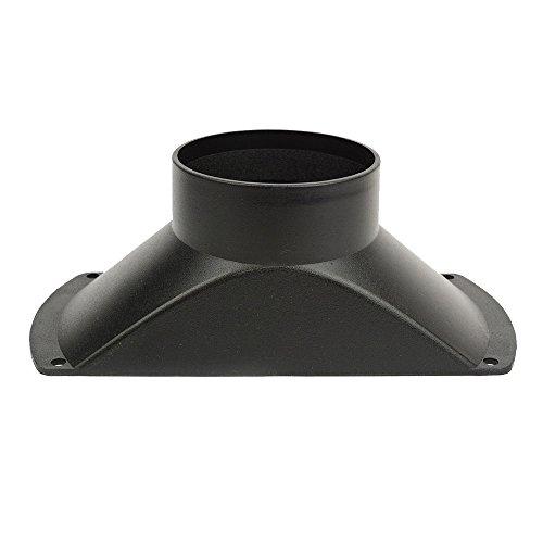 Big Horn 11401Staub Kapuze für Verwendung mit 4-Zoll Schlauch (Staub-schlauch)