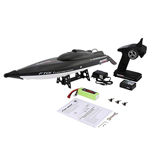 WEINANA Feilun FT011 65cm 2.4G 2CH RC 55km/h High Speed Racing Boat Ship Speedboat with Water Cooling System Flipped Brushless Motor