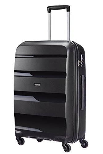 American Tourister Bon Air Spinner M Maletas y trolleys, 66 cm, 53 L, Negro...