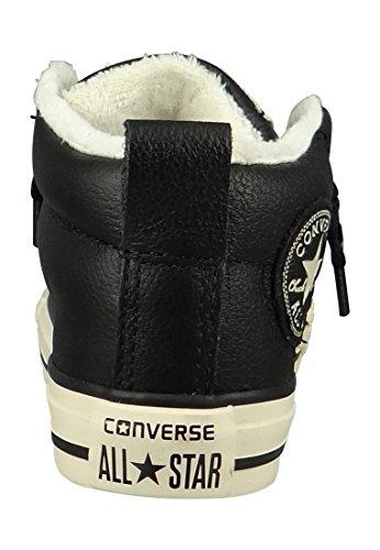 Shearling Star kinder Inverso Sneaker Mandril De Rua Unisex All Taylor Couro Júnior Grau Mid wqI8x6RIZ