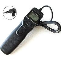 Pixtic - Télécommande Intervallomètre Timer RS-80N3 pour Canon EOS 1Ds Mark III 1Ds Mark II 1Ds 1D Mark IV 1D Mark III 1D Mark II N 1D Mark II 1D 5D 5D Mark II 5D Mark III 6D 7D 50D 40D 30D 20D 10D