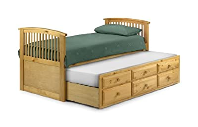 Julian Bowen Hornblower Single Bed, Antique Pine