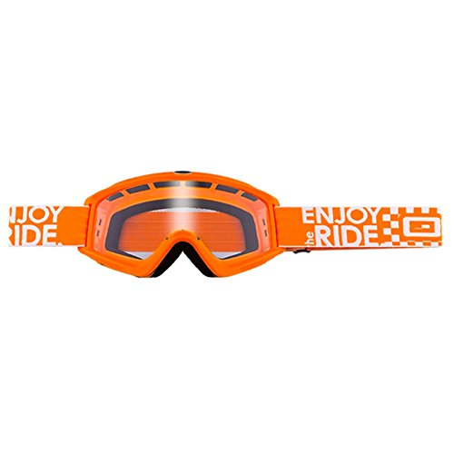 O'Neal B-Zero Goggle Moto Cross MX Brille Downhill Enduro Motorrad Mountainbike, 6025-10, Farbe orange