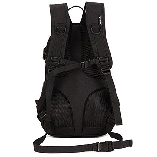 Imagen de sunvp táctical  militar  asalto  gran bolsa de hombro impermeable 20l para las actividades aire libre, senderismo, caza ,viajar, color negro alternativa