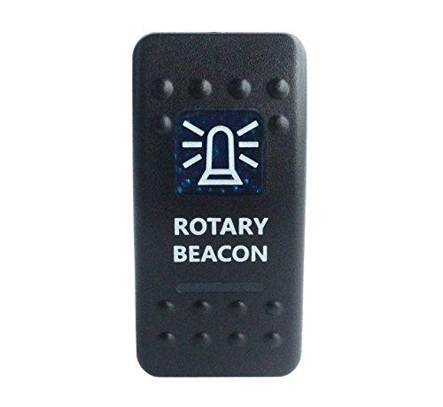bandc Wasserdicht IP68Marine Grade Auto Boot Blau LED 5Pin SPST ON-OFF-Rotary Beacon Wippe -