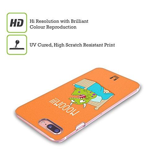 Head Case Designs Carrot Revenge Giorno Opposto Cover Retro Rigida per Apple iPhone X Toddler Under The Bed