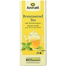 Alnatura Bio Brennessel Tee mit Zitronengras, 20 Beutel, 30 g