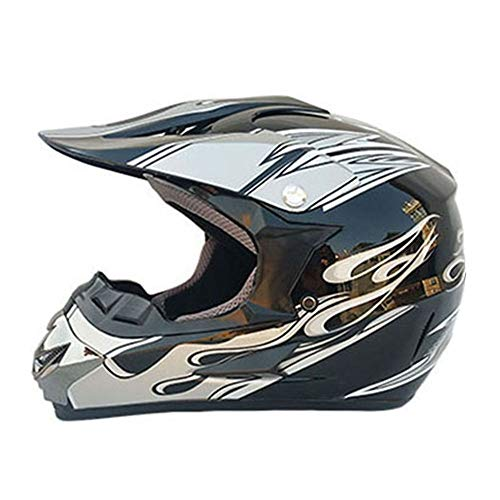 YHWCUICAN Motorrad-Sturzhelm Motocross Helm Motorradhelm Profi Motorrad Offroad Helm Downhill Sicherheit Racing Helm (Size : XL)
