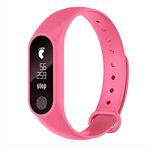 DOGZI Fitness-Tracker (GPS, Bluetooth, Herzfrequenzmessung, wasserdicht) M2 Sport Schrittzähler Smart Armband Herzfrequenz Bluetooth V4.0 Smart Uhr