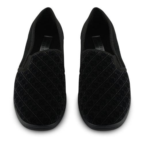 Chinelos Negros Homens Calçado Sensação Dos x5IOqXZ