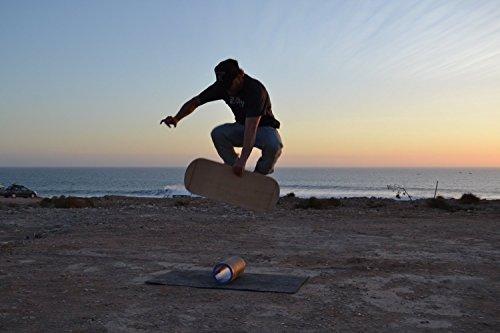 """DaffyBoards Balance Trainer Set """"Shine"""": Balance Board - 5"""