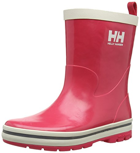 Helly HansenJK MIDSUND - Stivali in gomma, imbottiti Unisex - Bambini, Rosa (Magenta), 25