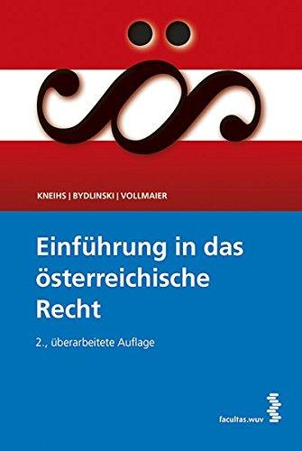 Einführung in das österreichische Recht