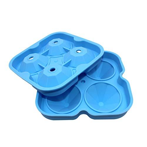 Eiswürfelschale, Chshe, Diamantform Für 3D-Eiswürfel, Schokoladenform Für Party-Silikon-Match-Eiswürfel