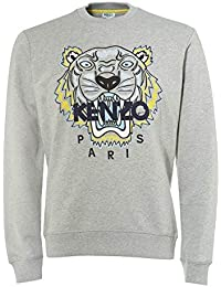 ed7170b7 Kenzo Mens Tiger Head Sweatshirt Grey
