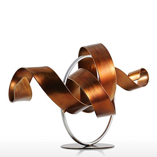 Hylotele Tooarts Moderne Kunst-Figur, Moderne Skulptur Abstrakte Skulptur aus Eisen Handarbeit Büro Wohnzimmer Art