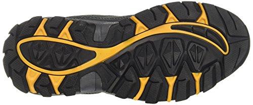Geka Canyon, Chaussures de Randonnée Basses Mixte Adulte Gris (Anthrazit/orange Anthrazit/orange)