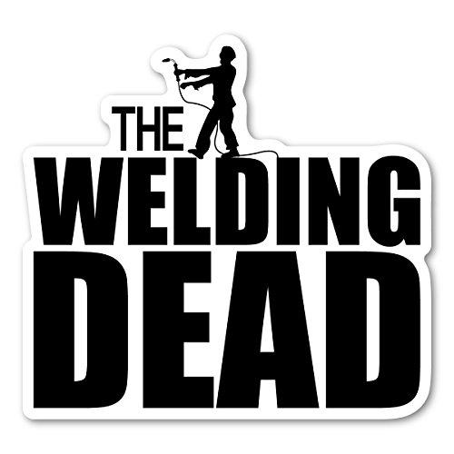 The Welding Dead, D-MZ-WELD, Aufkleber, schwarz/weiß