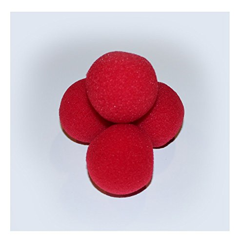 Sponge Rock (Sponge Balls for Magic Tricks - 2 inch (Classic Red) by Rock Ridge)