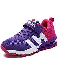 aemember Boys 'zapatos Casual Tul/ETTE Zapatillas primavera/verano/otoño/invierno comodidad/Magic más colores disponibles, US9 / EU25 / UK8 Toddle, morado