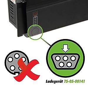 41cd6dB GdL. SS300  - Phylion Ladegerät Akku Joycube SF-06S / RC1701-48V 2A -
