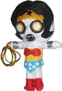 Original Wonder Woman DC Comics Zombie String Doll Keychain by Original Wonder Woman (English Manual)