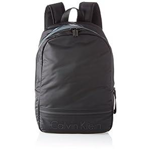 41cd74w7lJL. SS300  - Calvin Klein - Matthew 2.0 Backpack, Mochilas Hombre, Negro (Black), 16x41x30 cm (B x H T)