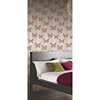 Arthouse Enchantment Wallpaper Midsummer Red/Copper 661202 Full Roll from Arthouse