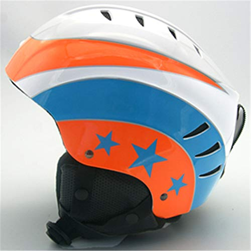 Marke Mann/Frau Skihelm Snowboard Helm Schnelle Moto Klettern Sport Sicherheit Snowmobile Skateboard Maske Ski Goggles Mate Orange M 55-58cm