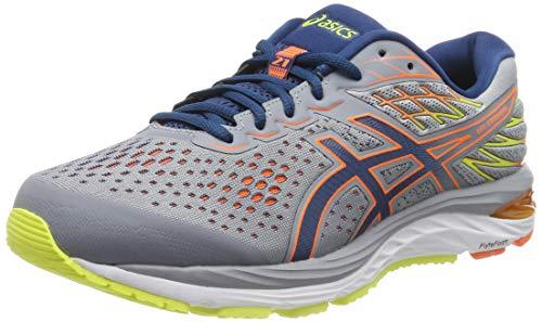 Asics Gel-Cumulus 21, Zapatillas de Running para Hombre, Gris (Sheet Rock/Mako Blue 020), 44.5 EU
