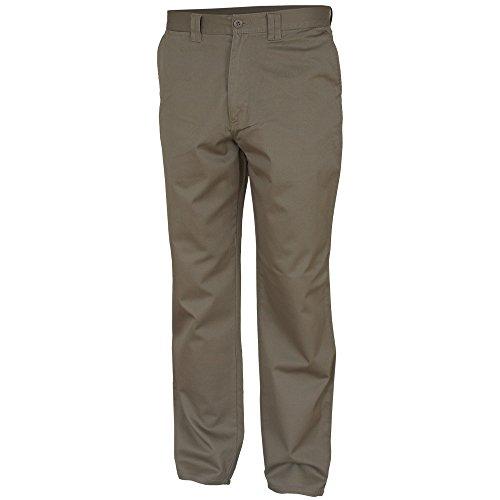 Preisvergleich Produktbild Carson Classic Casuals Khakis aus reiner Baumwolle, 1 Stück, 42/32, khaki, KTHK.KH