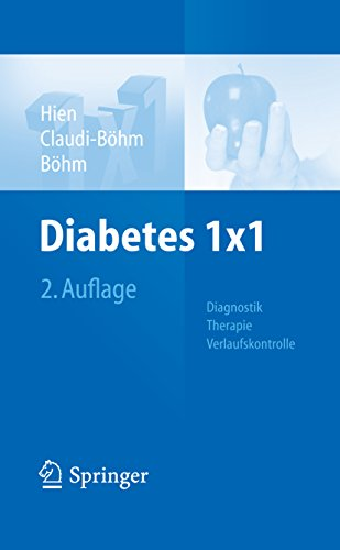 Diabetes 1x1: Diagnostik, Therapie, Verlaufskontrolle (1x1 der Therapie)