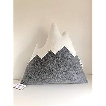 Berg Kissen ca. 30 cm Alpen Männergeschenk Mountain Bergkissen Kletterer Skifahrer